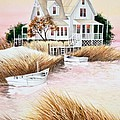 Outer Banks Summer Morning Poster by Michelle Wiarda