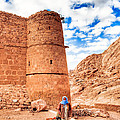 Outside the Walls of Historic Saint Catherine's Monastery - Egypt Poster by Mark Tisdale