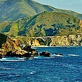 Pacific Coast Panorama Print by Benjamin Yeager