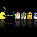 Pacman Star Wars - 3 Poster by NicoWriter