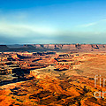 Painted Canyonland Poster by Robert Bales