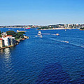 Panoramic Sydney Harbour Print by Kaye Menner
