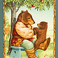 Papa Bear Poster by Lynn Bywaters