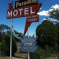 Paradise On Route 66 Print by Mel Steinhauer