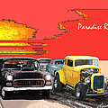 Paradise Road Print by Barry Cleveland