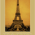 Paris 1889  Poster by Andrew Fare