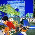Parisian Artist Poster by Chuck Staley