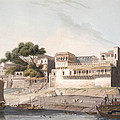 Part Of The City Of Patna, On The River Print by Thomas Daniell