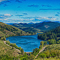 Patterson Lake in the Summer Poster by Omaste Witkowski