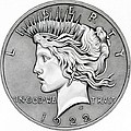 Peace Dollar Poster by Fred Larucci
