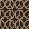 Peace Symbol Collage Poster by Michelle Calkins