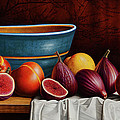 Peaches and Figs Print by Horacio Cardozo