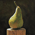 Pear Poster by Joanne Grant