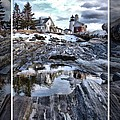 Pemaquid Lighthouse Poster by Victoria  Dauphinee
