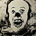 pennywise the clown Print by Michael Kulick