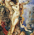 Perseus and Andromeda Print by Gustave Moreau