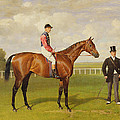 Persimmon Winner of the 1896 Derby Poster by Emil Adam