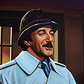 Peter Sellers as inspector Clouseau  Poster by Paul  Meijering