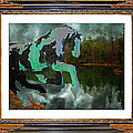 Phantom on the Lake Print by Betsy A  Cutler