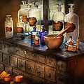 Pharmacist - Medicinal Equipment  Poster by Mike Savad
