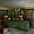 Pharmacy - The Chemist Shop  Print by Mike Savad