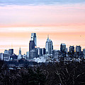 Philadelphia from Belmont Plateau Poster by Bill Cannon