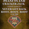 Phillies Peanuts and Cracker Jack  Poster by Movie Poster Prints