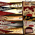 Phillies Pennants Poster by Bill Cannon