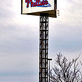 Phillies Stadium Sign Print by Bill Cannon