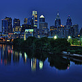 Philly Skyline Print by Mark Fuller