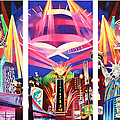 Phish New York for New Years Triptych Poster by Joshua Morton