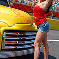Pickup Pinup Poster by Mark Spearman