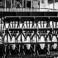 Picture of Natchez Steamboat Paddle Wheel in New Orleans Print by Paul Velgos