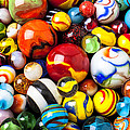 Pile of marbles Print by Garry Gay