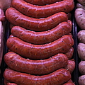 Pile of Sausages - 5D20694 Print by Wingsdomain Art and Photography