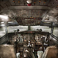 Pilot - Boeing 707  - Cockpit - We need a pilot or two Print by Mike Savad