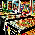 Pinball Alley Print by Benjamin Yeager