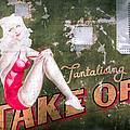Pinup Girl - Aircraft Nose Art - Take Off Anne Print by Gary Heller