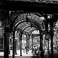 Pioneer Square Pergola Print by David Patterson