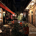 Pirates Alley at Night Print by John Rizzuto