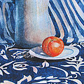Pitcher with Fruit Print by Daydre Hamilton