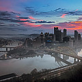 Pittsburgh January Thaw Print by Jennifer Grover