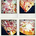 Pizza Print by Les Cunliffe