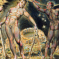 Plate 100 from Jerusalem Print by William Blake