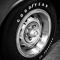 Plymouth Cuda Rallye Wheel Poster by Paul Velgos