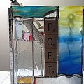 Poet Windowsill Box Print by Karin Thue