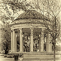 Popp Bandstand sepia Print by Steve Harrington