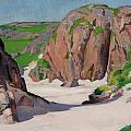 Port Bhan  Iona Print by Francis Campbell Boileau Cadell