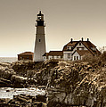 Portland Head Lighthouse Poster by Joann Vitali
