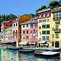 Portofino Sunshine by Michael Swanson